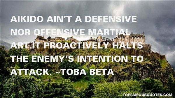 Quotes About Defensive