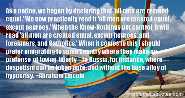 Quotes About Despotism