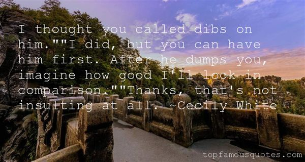 Quotes About Dibs