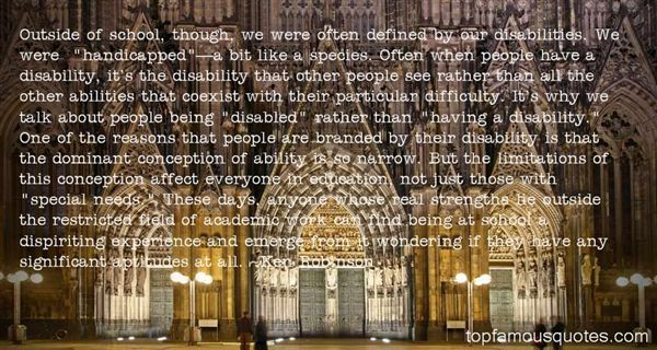 Quotes About Disabilities And Education