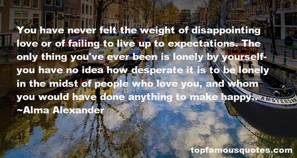Quotes About Disappointing Yourself