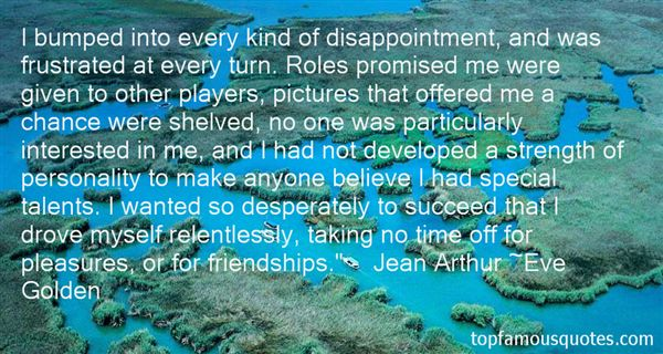 Quotes About Disappointment In Friendship