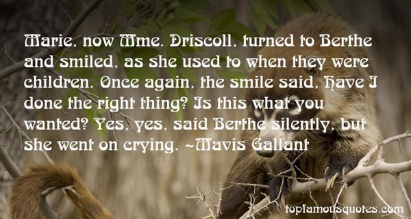 Quotes About Driscoll