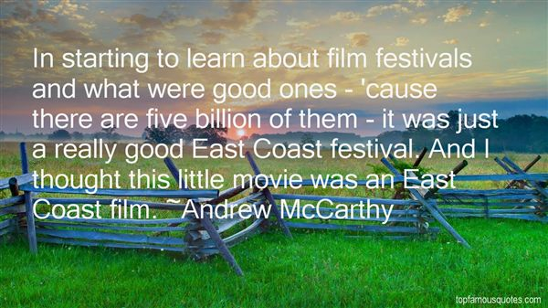 Quotes About East Coast