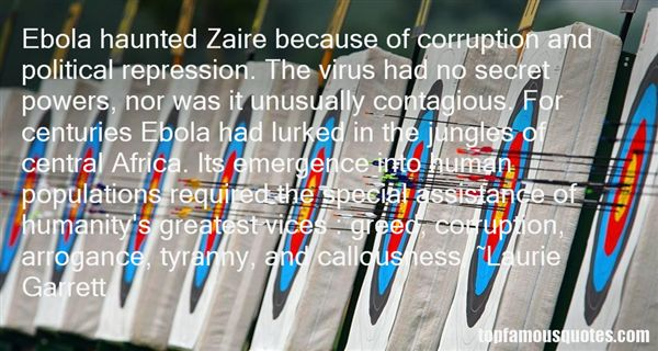 Quotes About Ebola Virus