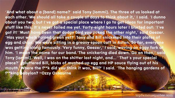 Quotes About Famous Babylon