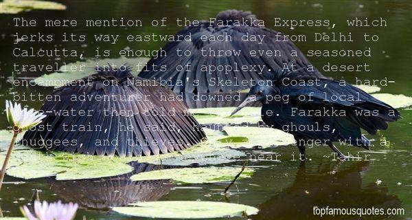 Quotes About Farakka