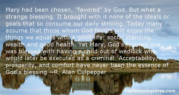Quotes About Favor Of God