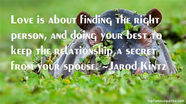 Quotes About Find The Right Person