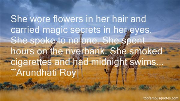 Flowers In Her Hair Quotes Best 19 Famous Quotes About Flowers In