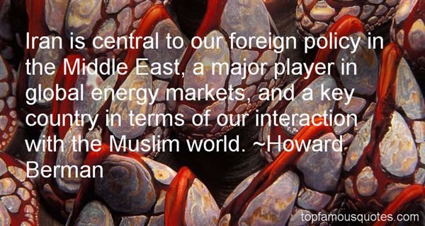 Quotes About Foreign Policy