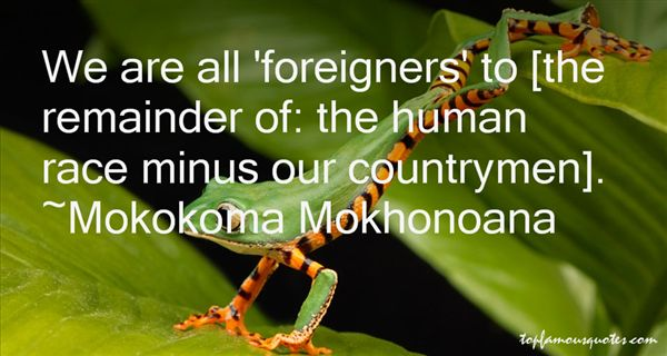 Quotes About Foreigner