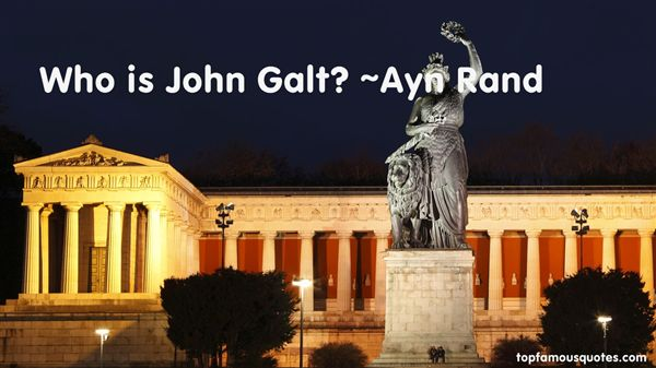 Quotes About Galt