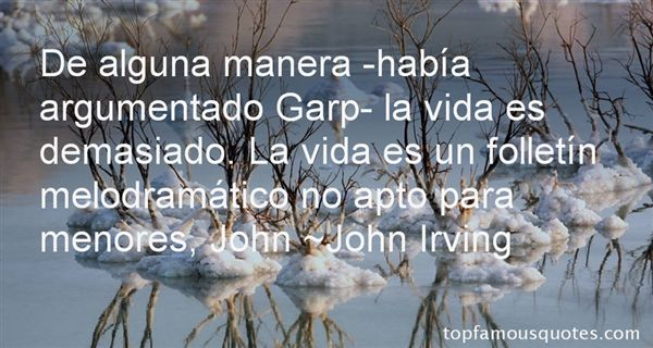 Quotes About Garp