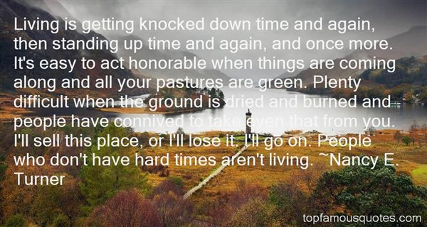 Quotes About Getting Knocked Down