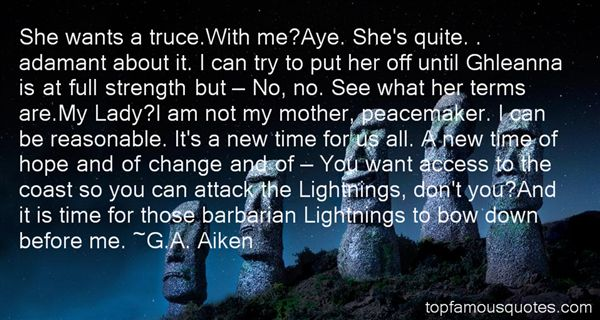 Quotes About Ghleanna