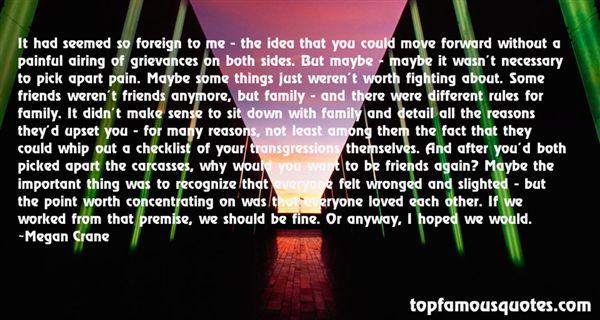Quotes About Grievances