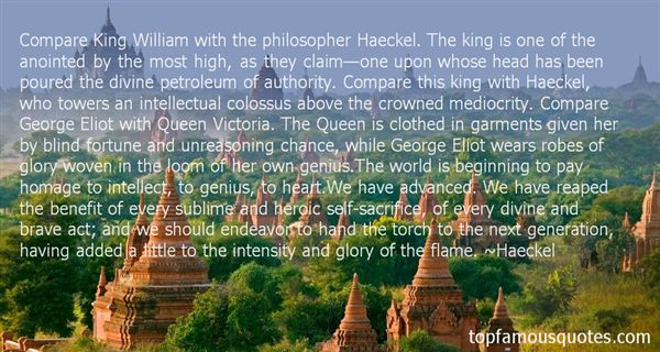 Quotes About Haeckel