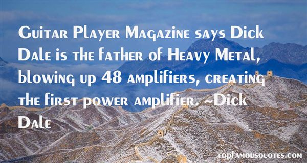 Quotes About Heavy Metal