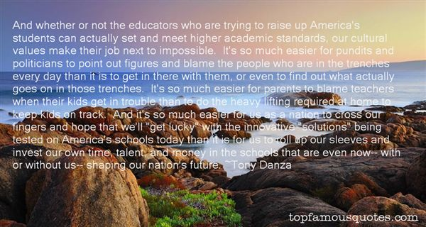Quotes About Higher Standards