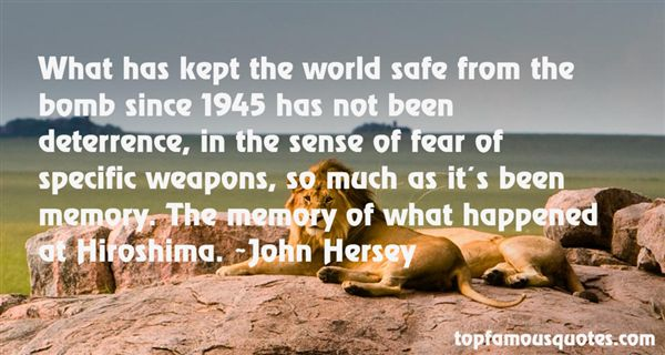 Quotes About Hiroshima