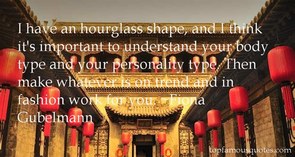 Quotes About Hourglass Body