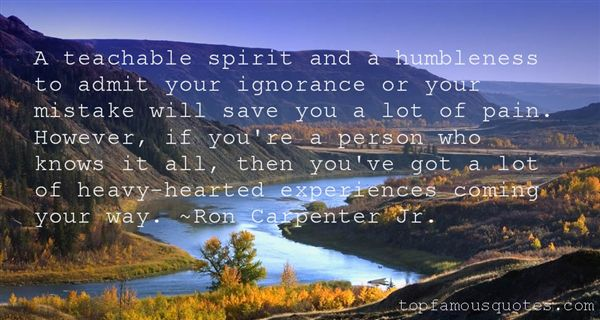Quotes About Humble Heart