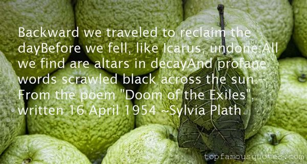 Quotes About Icarus