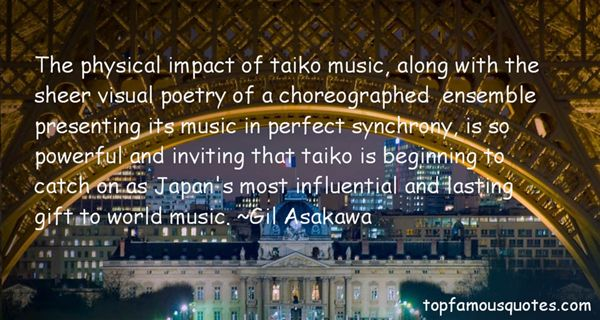 Quotes About Impact Of Music