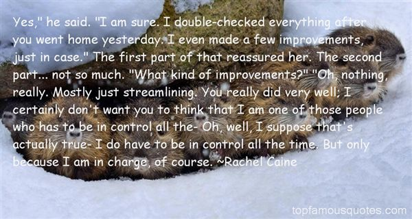 Quotes About Improvements