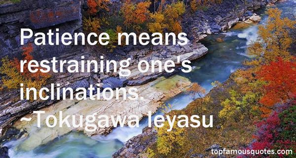 Quotes About Inclinations