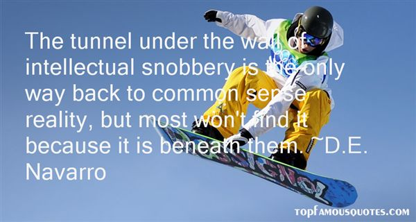 Quotes About Intellectual Snobbery