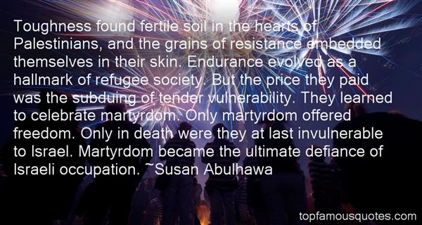 Quotes About Israeli Occupation