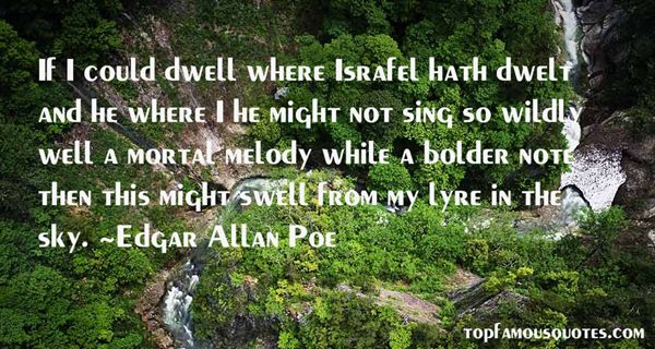 Quotes About Israfel