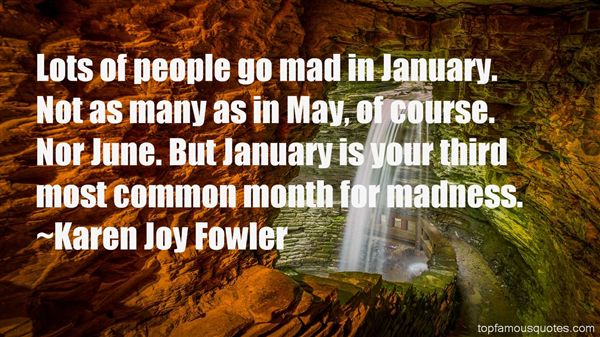 Quotes About January Month