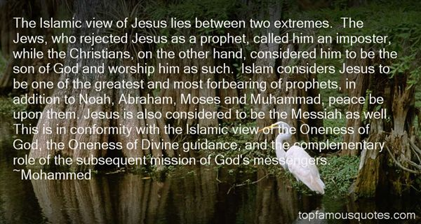 Quotes About Jesus Moses