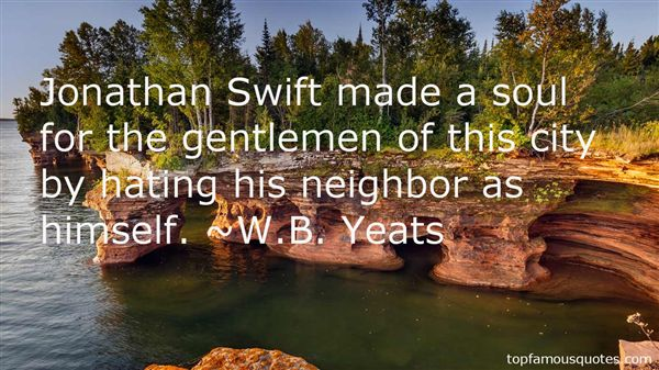 Quotes About Jonathan Swift