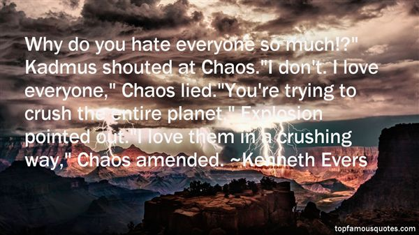 Quotes About Kadmus