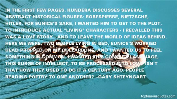 Quotes About Kundera