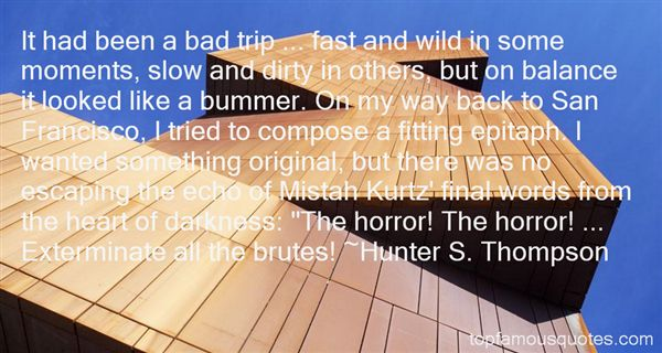 Quotes About Kurtz In Heart Of Darkness
