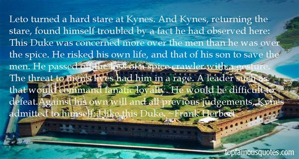 Quotes About Kynes
