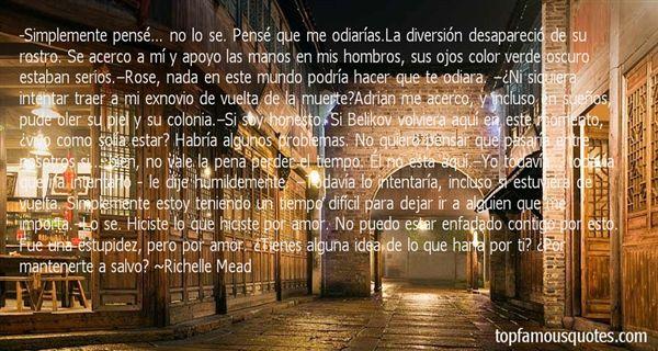 Quotes About La Muerte