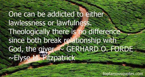 Quotes About Lawlessness