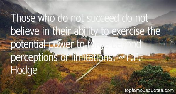 Quotes About Limitation