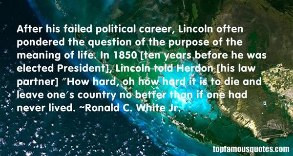 Quotes About Lincoln As President