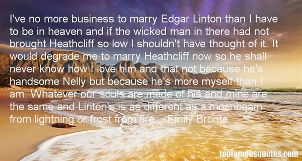 Quotes About Linton Heathcliff
