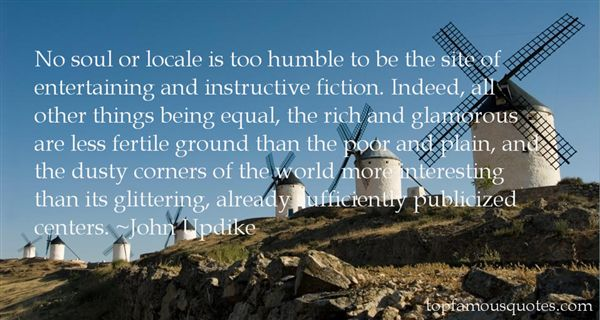 Quotes About Locale