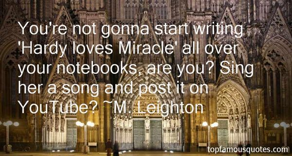 Quotes About Love Notebook