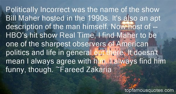 Quotes About Maher