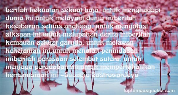 Quotes About Melayani